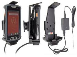 Support voiture  Brodit M3 Mobile SM10 installation fixe - Avec rotule, connectique Molex. Chargeur 2A.