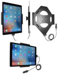Support voiture  Brodit Apple iPad Pro avec chargeur allume cigare - Avec rotule. Avec câble USB.