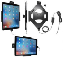 Support voiture Brodit Apple iPad Pro installation fixe - Avec rotule, avec 2 clés