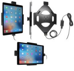 Support voiture Brodit Apple iPad Pro installation fixe - avec rotule, avec verrouillage renforcé
