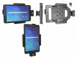 Support tablette Brodit Samsung Galaxy Tab E 8.0 avec verrouillage à clés. Réf 539835