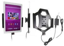 Support voiture  Brodit Sony Xperia Z4 Tablet installation fixe - Avec rotule, connectique Molex. Réf 513859