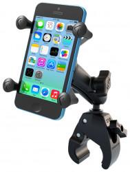 Support Smartphone Xgrip avec fixation étaux de Ram-Mount