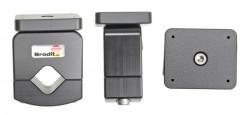 Pour tube diamètre 19-30 mm. Plaque de montage 50x42 mm. Pré-percés AMPS-trous. Réf 215664