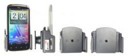 Support voiture Brodit réglable passif avec rotule - Support réglable. Pour appareil avec étui de dimensions: Larg: 62-77 mm, épaiss.: 9-13 mm.