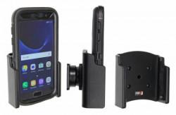 Support voiture Brodit Samsung Galaxy S7 passif avec étui OTTERBOX DEFENDER UNIQUEMENT avec rotule. Réf 511891