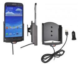 Support voiture  Brodit Samsung Galaxy Mega 6.3  avec chargeur allume cigare - Avec rotule. Avec câble USB. Réf 521556