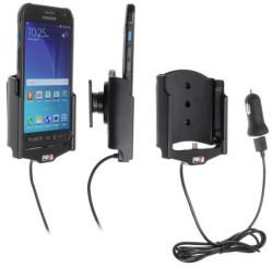 Support voiture Brodit Samsung Galaxy S6 Active avec chargeur allume cigare - Avec rotule. Avec câble USB. Réf 521752