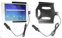 Support voiture  Brodit Samsung Galaxy Tab A 8.0  avec chargeur allume cigare - Avec rotule. Avec câble USB. Réf 521754