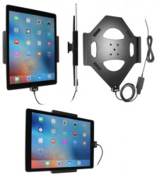 Support voiture Brodit Apple tablette iPad Pro installation fixe - Avec rotule