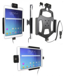 Support voiture Brodit Samsung Galaxy Tab A 9,7 antivol - Support actif avec cig-plug et pivotant. Convient appareils avec étui d'origine. 2 clefs. Réf 535769
