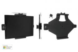 Support tablette passif Brodit Microsoft Surface Pro 4 avec rotule orientable et système de verrouillage antivol. Avec 2 clés. Réf 539816