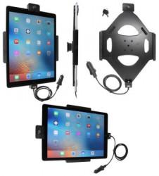 Support voiture Brodit Apple iPad Pro avec câble USB, avec rotule. Avec 2 clés