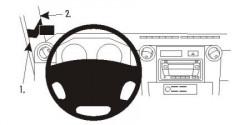 Fixation voiture Proclip  Brodit Toyota LandCruiser 70 Réf 804468