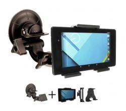 Support tablette ajustable usage standard avec fixation ventouse professionnelle. Réf 809amp-511848