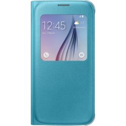 Etui Samsung S-View Cover pour Galaxy S6 - bleu