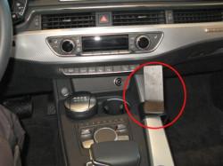 Fixation voiture Audi A5. Réf Brodit 835252