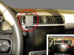 Fixation voiture Citroen C3. Réf Brodit 855281