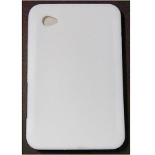 Protection arrière silicone blanche Galaxy Tab