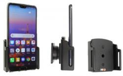 Support téléphone passif Huawei P20 avec étui. Réf Brodit 711062