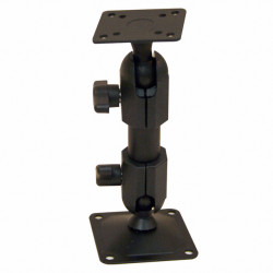 Bras métal avec base et pied orientables 15 cm