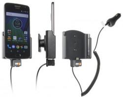 Support téléphone voiture Motorola Moto G5 Plus avec chargeur allume-cigare. Réf 512957