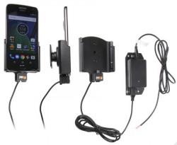 Support voiture Motorola Moto G5 Plus pour installation fixe. Réf Brodit 513957