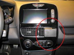 Proclip Renault Clio IV 2017 restylée. Réf Brodit 855307