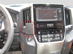 Fixation voiture Proclip Brodit Toyota LandCruiser 200 réf 855178