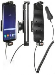 Support voiture Samsung Galay S8 Plus / S9+ avec étui. Réf Brodit 512965