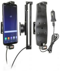Support voiture Samsung Galaxy S8+ / S9+ avec étui. Réf Brodit 521965