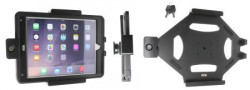 Support voiture Brodit Apple iPad Air 2 antivol - Support passif avec rotule. 2 clefs. Pour les appareils avec étui  étui Otterbox Defender (non livré). Réf 539759