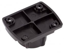 Adaptateur de montage avec plaque pré-percée compatible supports Brodit sur boule 25 mm. Réf UA-25AMPS