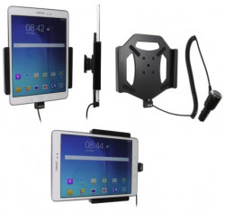 Support voiture  Brodit Samsung Galaxy Tab A 9.7  avec chargeur allume cigare - Avec rotule. Réf 512737