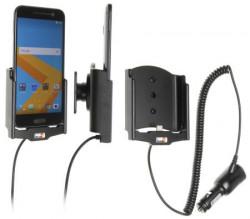 Support voiture Brodit HTC 10 avec chargeur allume cigare - Avec rotule orientable. Réf 512885