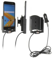 Support voiture Brodit HTC 10 avec chargeur allume cigare - Avec rotule. Avec câble USB. Réf 521885
