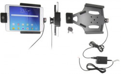 Support voiture  Brodit Samsung Galaxy Tab A 8.0  antivol - Support actif pour une installation fixe. Avec rotule. Avec serrure, 2 clés. Réf 536760