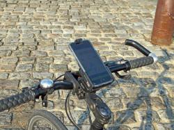Lot pour vélo/moto/quad : fixation + support + sécurité paysage