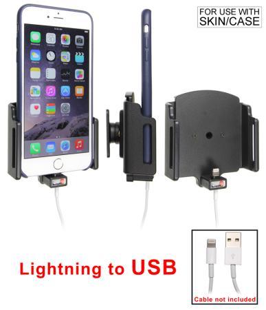 support voiture apple iphone 6 plus pour fixation cable t l phones tablettes gps. Black Bedroom Furniture Sets. Home Design Ideas