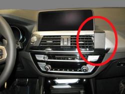 Fixation voiture Proclip Brodit BMW X3/X4 Réf 855369