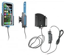 Support pour installation fixe iPhone Xs Max/11 Pro/11 Pro Max avec étui (largeur 80-94 mm, épaisseur 9-13 mm) - Ref 727084