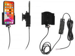 Support pour installation fixe iPhone 11 Pro sans étui avec revêtement peau-de-pêche - Ref 727161