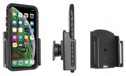 Support passif iPhone XS Max/11 Pro Max avec étui (largeur 80-94 mm, épaisseur 2-10 mm) - Ref 711083
