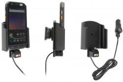 Support avec câble USB et chargeur allume-cigare CAT S31 - Ref 721129