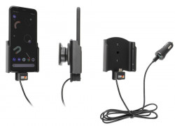 Support avec chargeur allume-cigare et câble USB Type-C Google Pixel 4 - Ref 721176