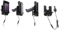 Support avec chargeur allume-cigare et amortisseur de vibrations 3A, 12/24Vpour SM10/15 Pistolgrip avec étui (SM10-TRIG-800) et pour Pistolgrip Long Range sans étui (SM15-TRIG-L00) - Ref 712158