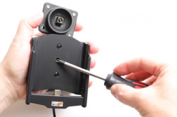 Support actif Huawei Mate 20 Pro avec adaptateur allume-cigare et cable USB. Réf Brodit 721096