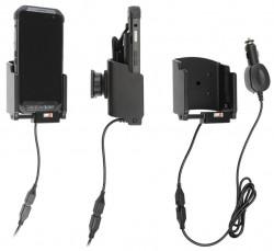 Support avec chargeur allume-cigare pour batterie étendue Point Mobile PM85 - Ref 712145
