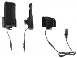 Support avec câble USB et chargeur allume-cigare Pokini FS6 - Ref 721123