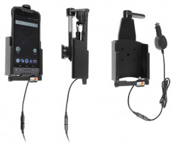 Support avec chargeur allume-cigare et sécurité Zebra M6/M60 - Ref 216026